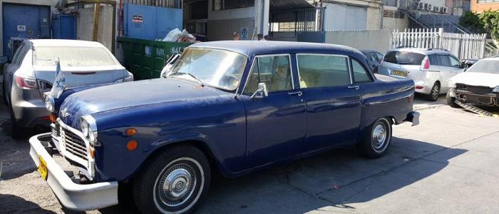 עבודות פחחות צבע לרכב בתל אביב